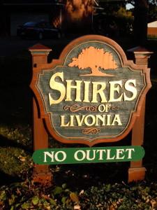 Livonia subdivisions
