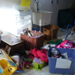 Clutter in the home