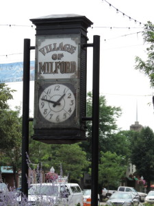 Village of Milford MI - town clock