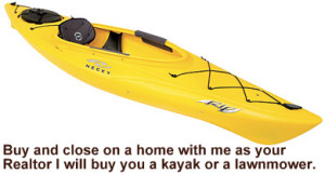 Buy through us and get a kayak