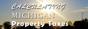 Michigan property taxes
